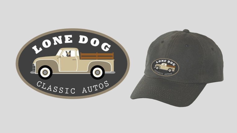 Identity Design | Lone Dog Classic Autos