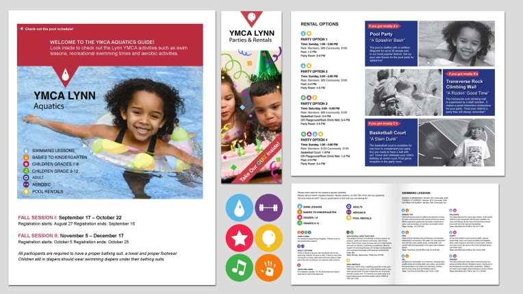 Print Media Design | YMCA of Lynn, Massachusetts
