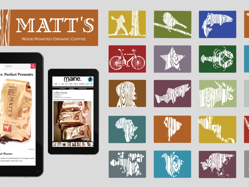 Identity & Packaging Design | Matt's Coffee