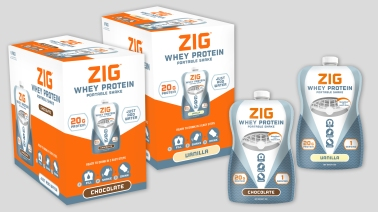 Packaging Design | ZIG Portable Protein