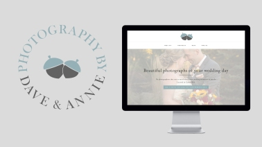 Dave and Annie Photography logo design
